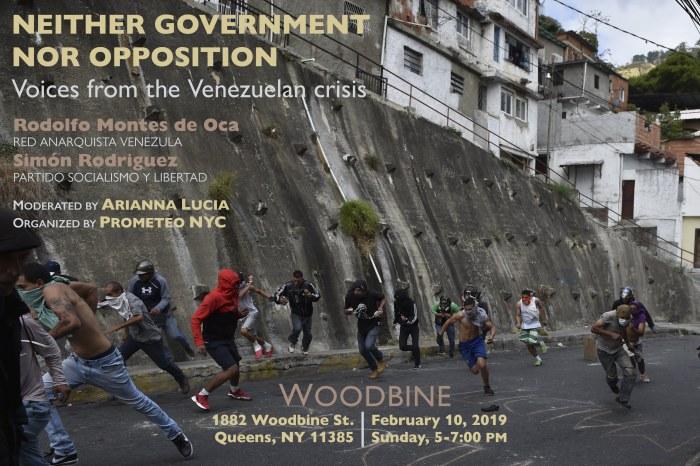 Venezuela flier